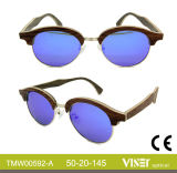 Fashion Wooden Sunglasses with High Quality (592-A)
