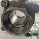 3 Piece 304 316 ISO 5211 Bsp Stainless Steel Ball Valve
