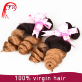 Ombre Virgin Remy Hair Loose Deep Wave Virgin Hair Peruvian