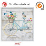 2019 Customized Fashion Abstract Bicycle Hand Oil Painting Home Wall Art Paintings (GF-005)