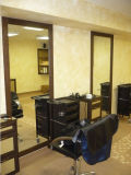 Top Quality Frameless Salon Mirror Glass with ISO Certificate