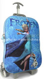 Fashion 3D EVA Frozen Elsa Kids Trolley Luggage Bag