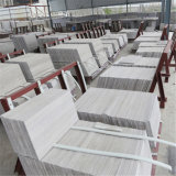 Vein Cut Chinese Grey Wood Marble with Competitive Price