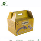 Matt Lamination Corrugated Packaging Paper Boxes with Handle