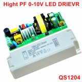 30-46W 0-10V Dimmable Isolated Panel Light LED Power Supply with Ce QS1204