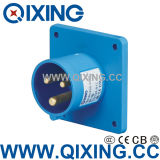 Cee/IEC Industrial Panel Mounted Plug (QX-812)