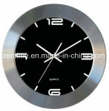 Four Colors Metal Frame Quartz Wall Clock in High Quality Design