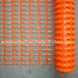 Orange Plastic Safety Warning Fence