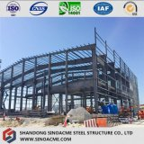 Steel Frame Commercial Building with Mezzanine