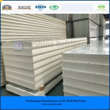 Polyurethane PU Sandwich Panel for Meat, Fruit, Vegetable, Dairy Products.