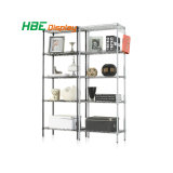 Household Collapsible Wire Shelving Racks for Apparels