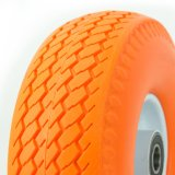 Light Wheel 10 Inch PU Foam Rubber Wheel