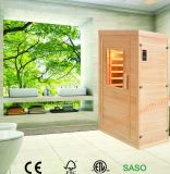 Far Infrared Sauna Room Made of Pure Hemlock Whick Could Keep Fit