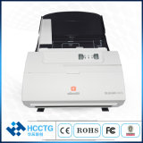 600dpi High Speed Color Duplex Ocr A4 Document Scanner with Micr Reader (A600)