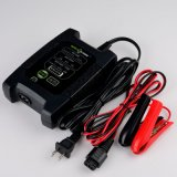 12V 4A Smart Battery Charger with Maintainer Charges Lithium Batteries