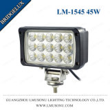 Square Auto LED Work Light 6 Inch 45W 6'' Black 6000K LED Work Lamps
