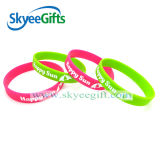Customized Promotion Wristband Silicone Bracelet for Sale