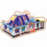 Cheer Amusement Space Themed Large Inflatable Castle
