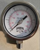 "4"" Winters All Stainless Steel Pressure Gauge"