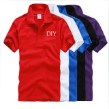 High Quality Colorful Cotton Men Polo Shirt for Wholesale