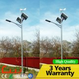 High Efficient Wind Solar Hybrid Street Light with 60W Solar Lamps