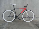 700c New Model Hot Sale Specialized White Fixed Gear Bike (ZLF-2013S)