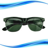 Metal Frame Sand Beach Sunglasses with Decoration Nails