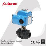 PVC Ball Valve with Electrical Actuator