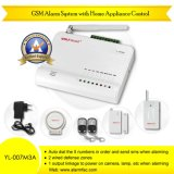 Wireless GSM Anti-Theft Inturder Security Alarm System with Intercom Function (YL-007M3A)