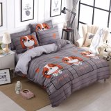 2018 New Collection Printed Pattern Microfiber Polyester Bedding Set