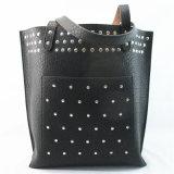 2018 Ladies' Reversible Fashion Leather Handbag