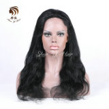 Wholesale Price Brazilian 100% Virgin Human Hair Body Wave Full Lace Wig Natural Color
