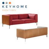 Keyhome Office Furniture Modern Leather Sofa