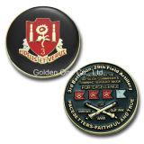 Personalize Custom Soft Enamel Artillery Souvenir Coin