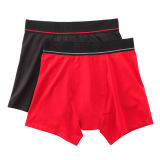 High Quality Plain Soft Cotton Boy Boxer Brief