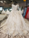 Aolanes Plain Lace Mermaid Strapless Wedding Dress 110941