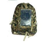 Waterproof Camouflage Solar Powered Backpack