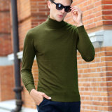 2018 Man′s New Turtleneck Woolen Sweater Pullover Long Sleeves, Wholesale OEM
