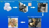Paper Bag Making Machine with Two Color Flexo Printing