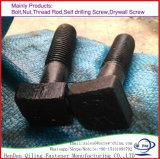 8.8 Grade Zinc Plated Cr3+ 5 Um/Mn DIN 912 Special Hex Socket Flat Head Bolt