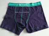 Dark Blue Comfortable Boxer Shorts for Men