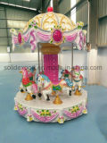 Kids Rides Merry-Go-Round 6-8people Small Carousel for Amusement Park