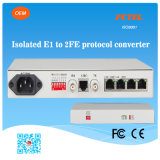 Mini Type Protocol Physical Isolated E1 to 2fe Converter