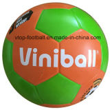 Two Color Rubber Soccer Ball Sporting