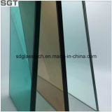 Toughened Laminated Glass Tawny or Green Film for Safety Window