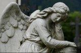 Natural Granite Angel Stone Statue
