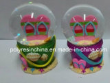 Polyresin Beach Souvenirs Snow Globes with Ocean Dolphin