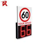 Traffic Safety LED Flashing Warning Signal Light Radar Speed Sign