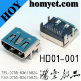 China Professional Manufacturer DIP Type HDMI Micro Connector for Digital Products