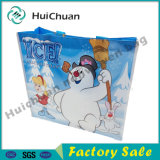 Promotional Custom Logo Printed Non Woven Carry Bag for Gift